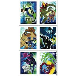 Ben 10 Alien Force Stickers