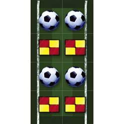 Heads Up Soccer Ball Stickers