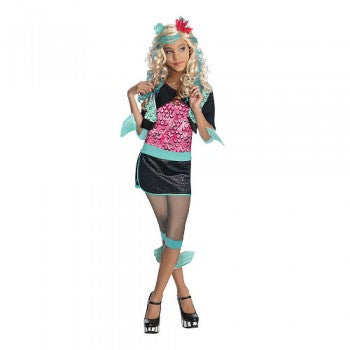 Monster High Lagoona Blue Child Costume - Large 12-14