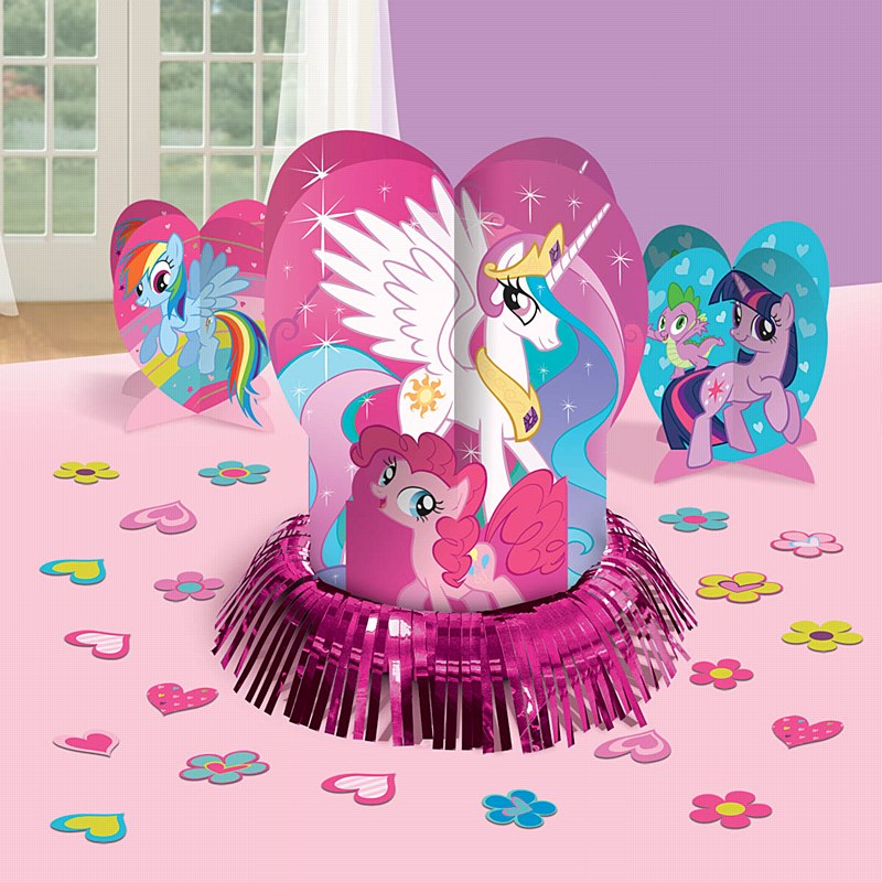 My Little Pony Friendship Table Decorating Kit Centerpiece