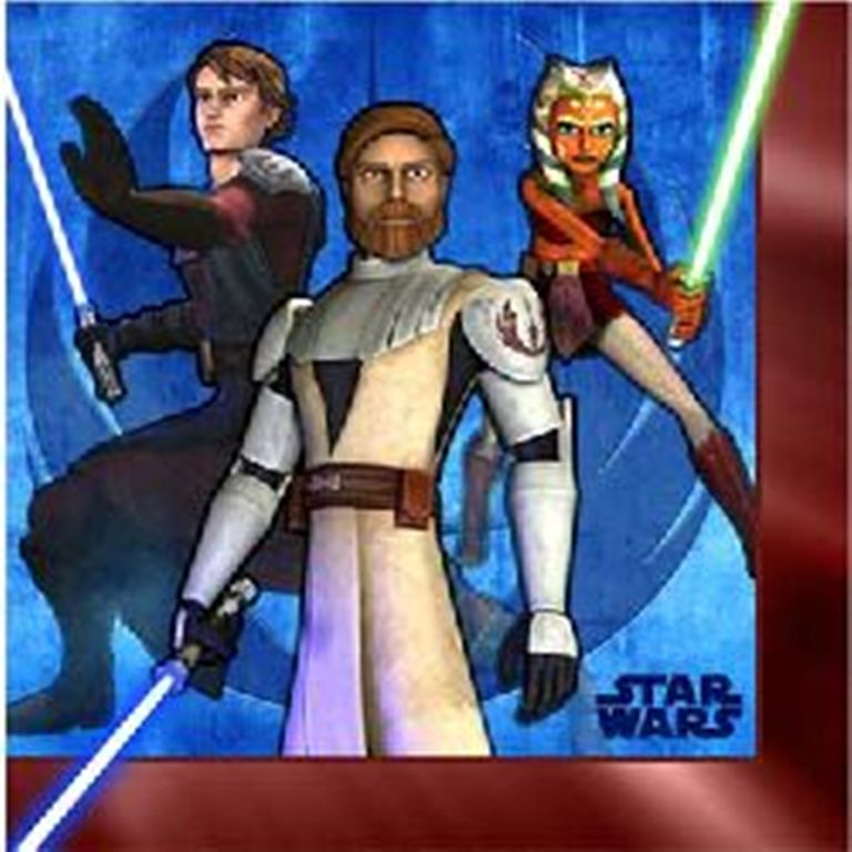 Star Wars The Clone Wars Luncheon Napkins