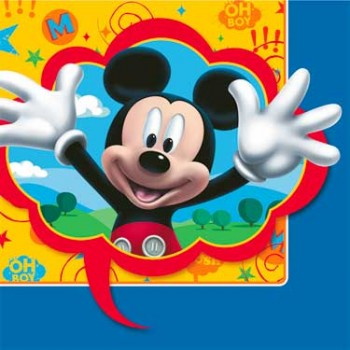 Mickey Fun & Friends Luncheon Napkins