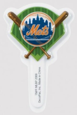 24 MLB New York Mets Cupcake Topper Picks