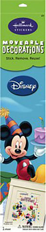 Disney Mickey & Minnie Balloons & Presents Large Moveable Decorations Stickers