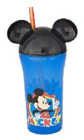 Disney Mickey Mouse Clubhouse Fun Sip Tumbler Cup with Lid and Straw by Zak Designs