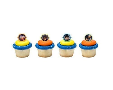 24 Miles from Tomorrowland Ready for Adventure Cupcake Topper Rings