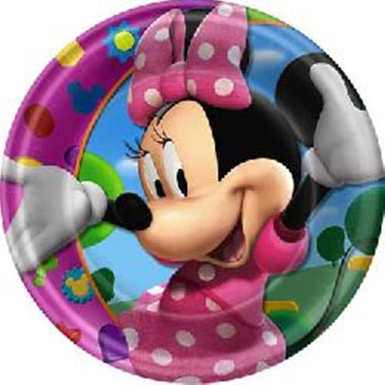 Minnie Mouse Dinner Plates