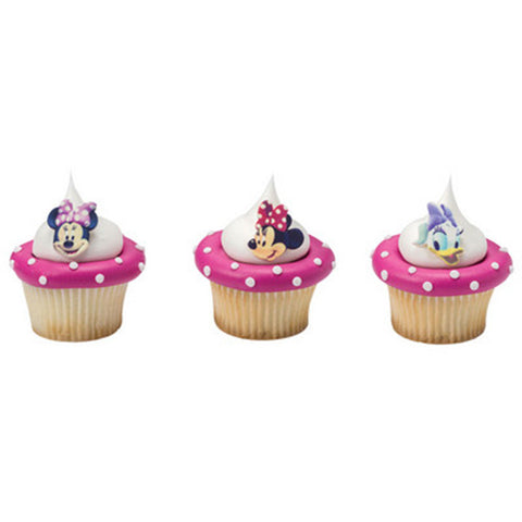Disney Minnie Mouse and Daisy Duck Cupcake Toppers