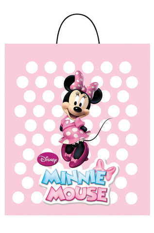 Disney Minnie Mouse Treat Bag Halloween Candy Trick or Treat Bag