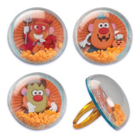 25 Mr. Potato Head Halloween Cupcake Rings