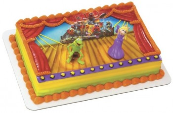 The Muppets Show Cake Decorating Kit Topper