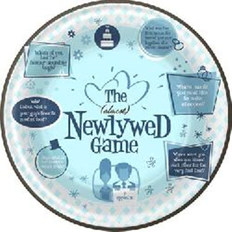 The (Almost) Newlywed Game Dinner Plates