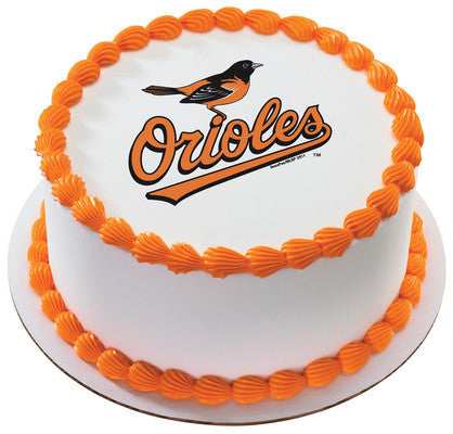 MLB Baltimore Orioles Edible Icing Sheet Cake Decor Topper