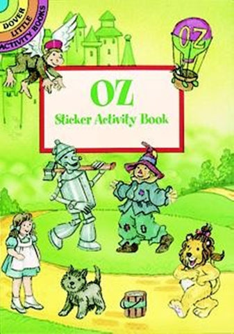 Oz Sticker Little Activity Book
