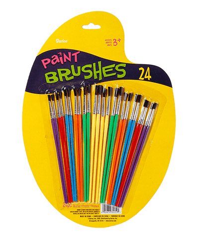 Darice Paint Brush Set - 24pc