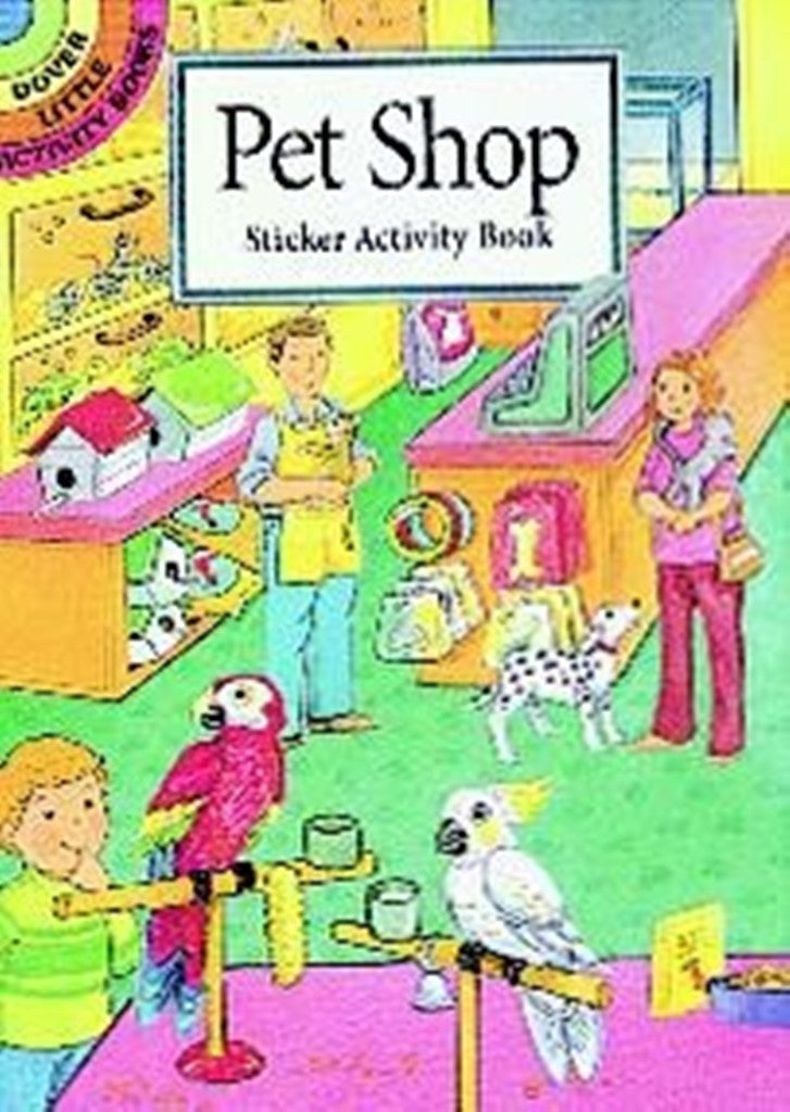 Pet Shop Sticker Little Activity Book