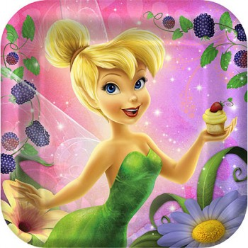 Disney Fairies Tinkerbell Tink Sweet Treat Dinner Plates