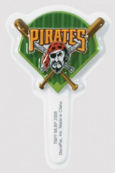 24 MLB Pittsburgh Pirates Cupcake Topper Picks