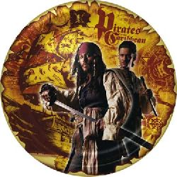 Pirates of the Caribbean Dessert Plates