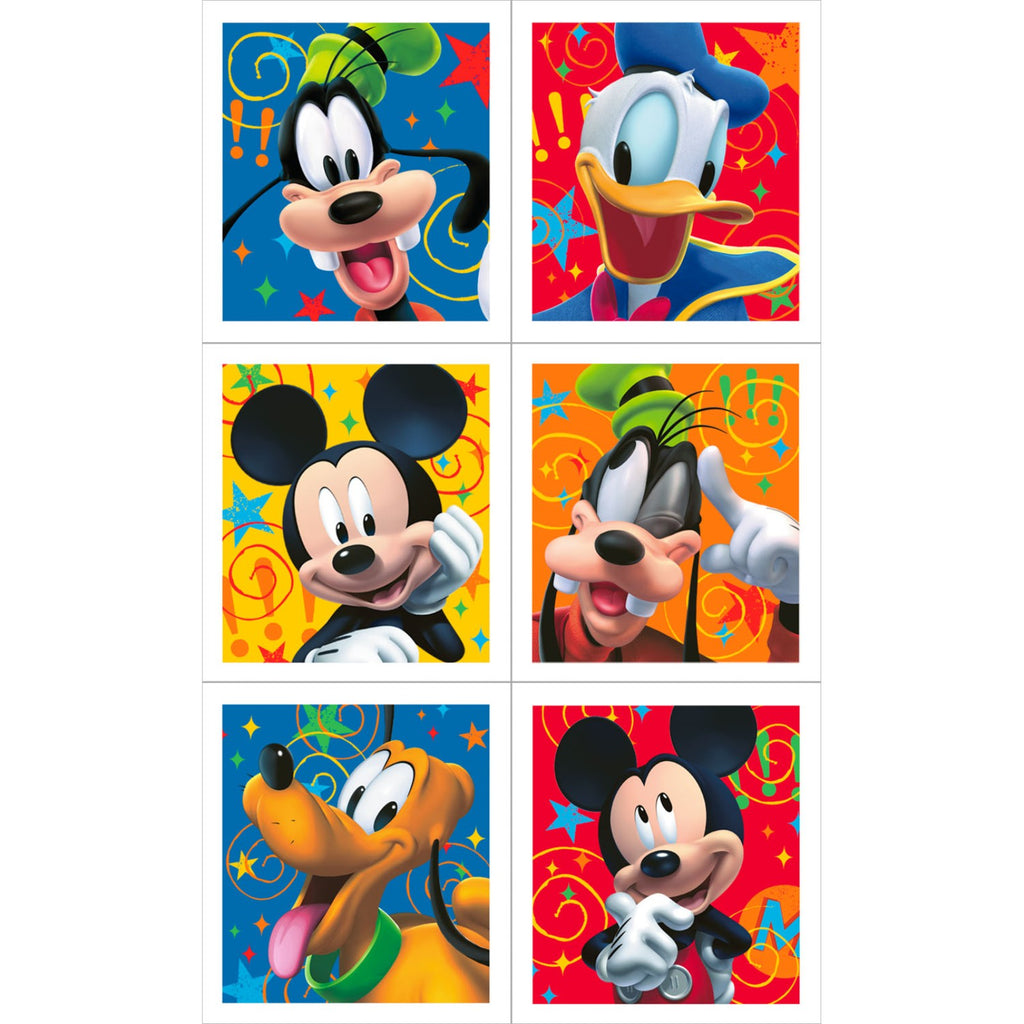 Mickey Mouse Clubhouse Birthday Party Stickers