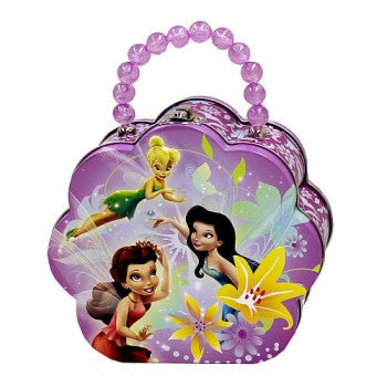 Disney Fairies Flower Purple Carry All Tin Purse