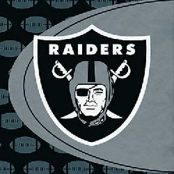 Oakland Raiders Luncheon Napkins