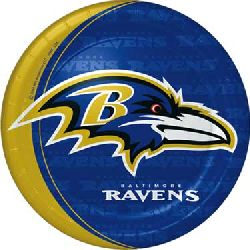 NFL Baltimore Ravens Dinner Plates