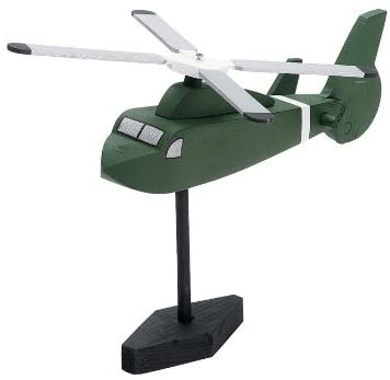 Darice Wood Model Kit Rescue Helicopter