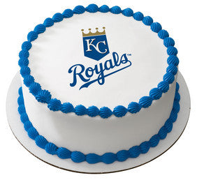 MLB Kansas City Royals Edible Icing Sheet Cake Decor Topper