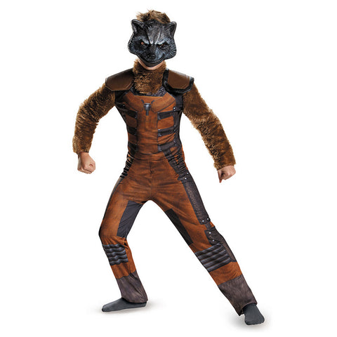 Marvel Guardians Of The Galaxy Rocket Raccoon Deluxe Child Costume