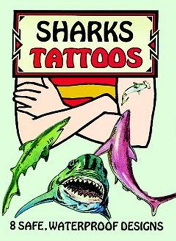 Sharks Tattoos Little Activity Book