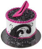 3 Stiletto High Heel Shoe Cake Topper Lay Ons