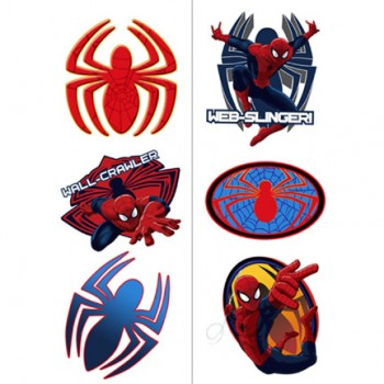 Spider Hero Spiderman Dream Party Temporary Tattoos