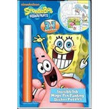 SpongeBob Squarepants 3 in 1 Invisible Ink & More Activity Book