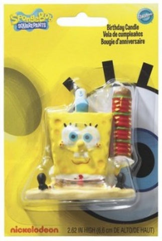 SpongeBob Squarepants Birthday Party Candle