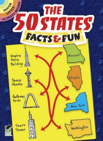 The 50 States: Facts & Fun Little Activity Book
