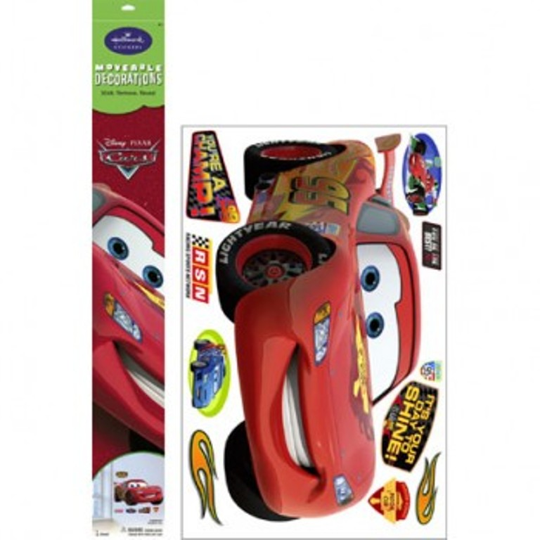 Jumbo Disney Cars Lightning McQueen Moveable Decorations