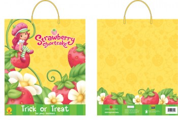 Strawberry Shortcake Treat Bag Halloween Candy Trick or Treat Bag