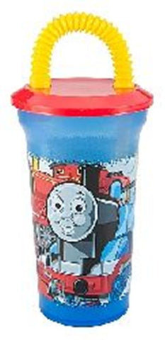 Thomas the Train Fun Sip Tumbler Cup with Lid and Straw by Zak Designs