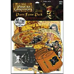 Pirates of the Caribbean Party Favors Pack