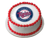 MLB Minnesota Twins Edible Icing Sheet Cake Decor Topper