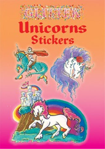 Glitter Unicorns Sticker Little Activity Book
