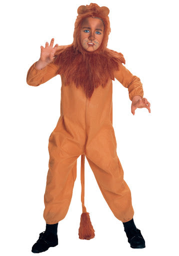 Wizard of Oz Cowardly Lion Children's Costume