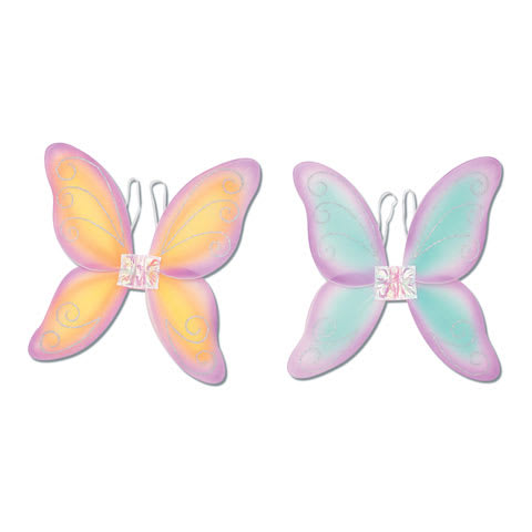 Darice® Kids Dress-Up - Princess Fairy Wings - Asst Color