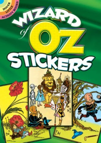 Wizard of Oz Stickers Little Activity Book
