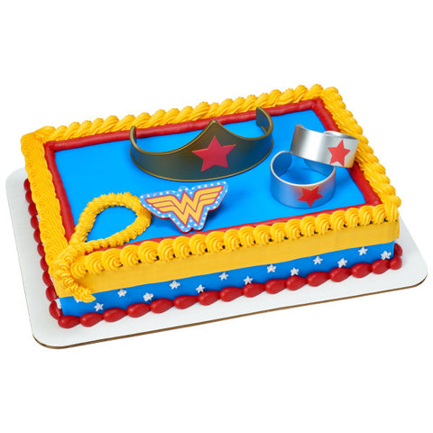 Wonder Woman Strength & Power Cake Topper