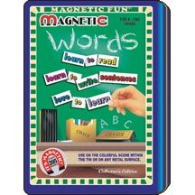 Words Magnetic Fun Tin
