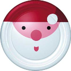Mix n Match Christmas Santa Dinner Plates
