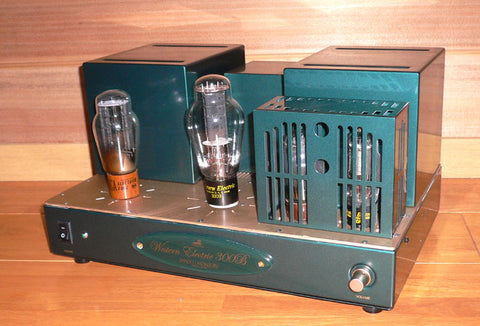 Pair Shindo Laboratory Western Electric 300B Monaural Block Power Amplifier
