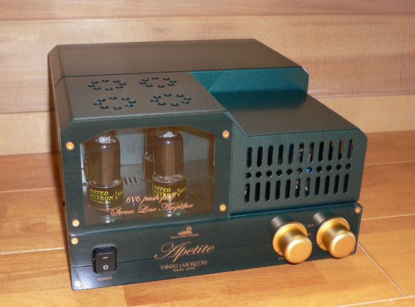 Shindo Laboratory Apetite 6V6 Push Pull Integrated Amplifier